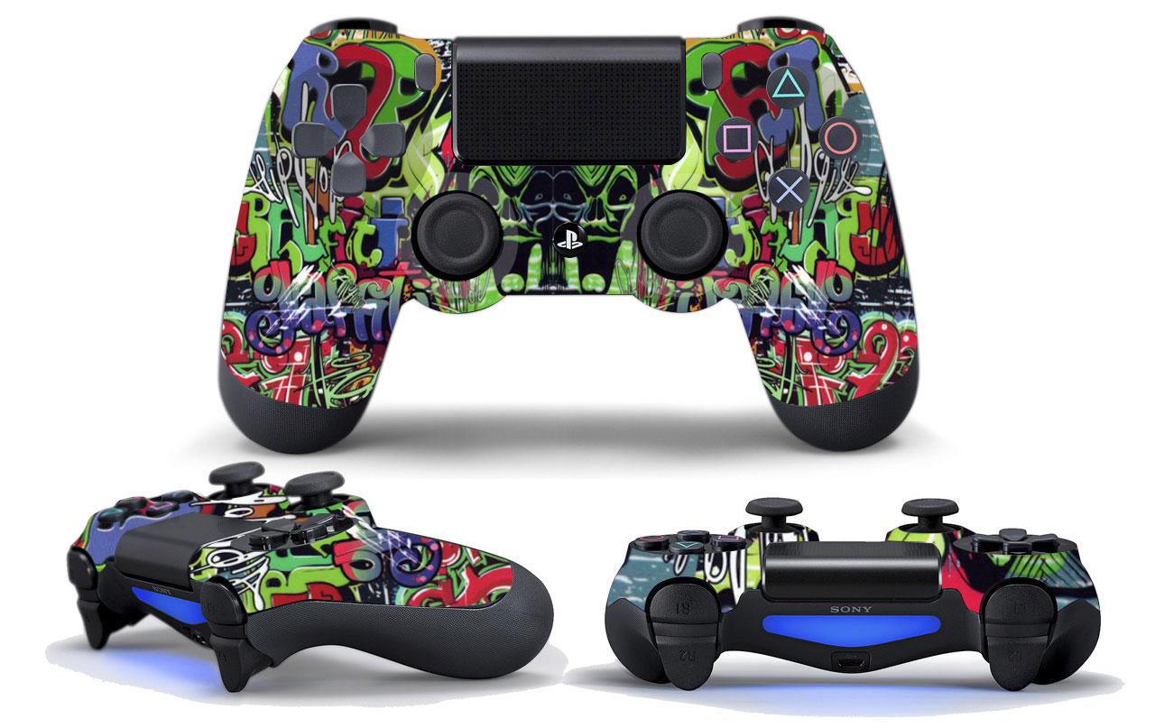 Retoque fotográfico para LCC, simulación de textura sobre mandos de PS4