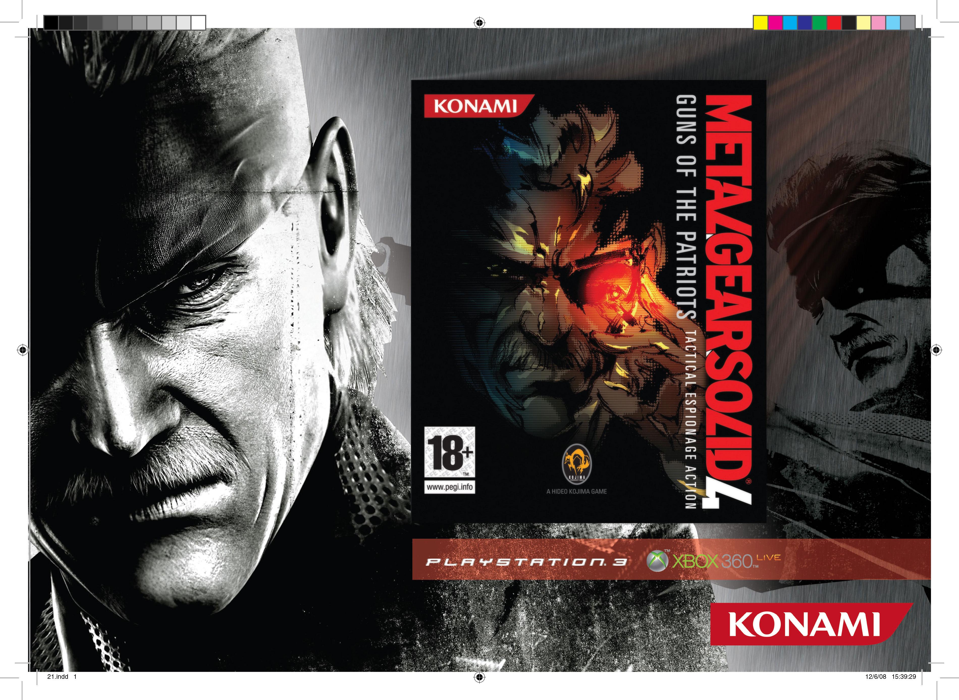 Publicidad catalogo Konami