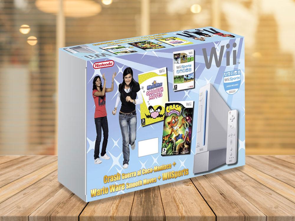 Mockup para Nintendo