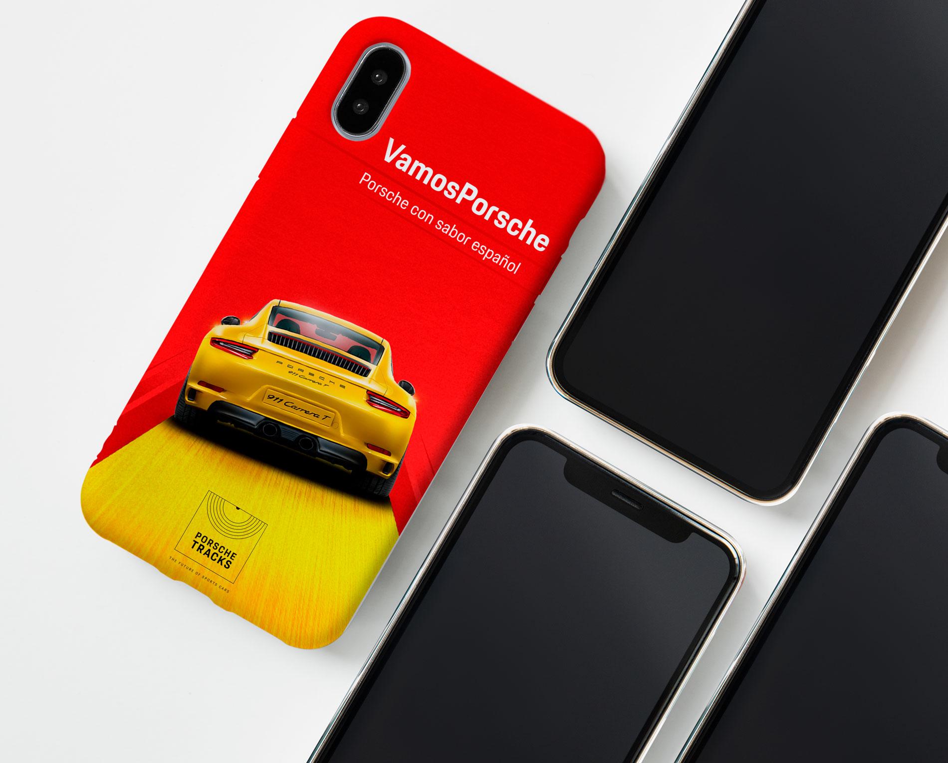 Carcasa Móvil Porsche