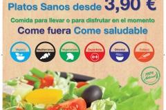 Cartel de calle para expositor top nutritition