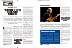 Maquetacion en Indesign paginas revista El Siglo