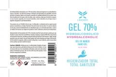 Etiqueta Gel Hidroalcóholico