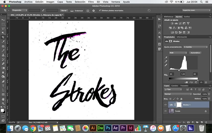 Creación de logo escrito a mano con Photoshop