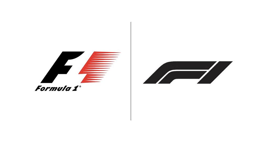 Fórmula 1 actualiza en su logotipo