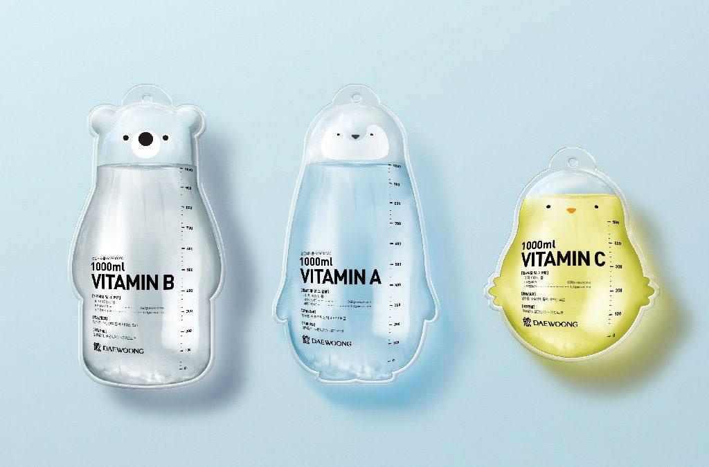 Packaging de animales para el suero en los hospitales niños