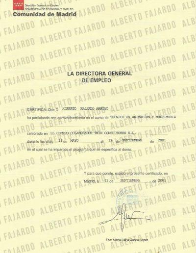 Diploma Tecnico Animacion