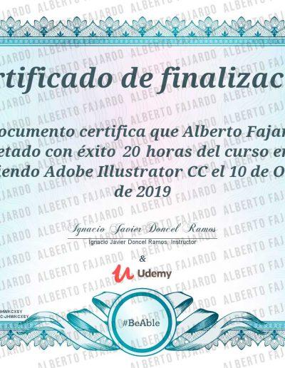 Diploma UDEMY Adobe Ilustrator