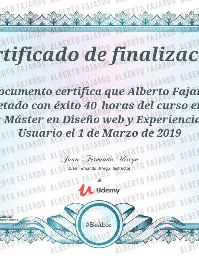 Diploma UDEMY UX UI