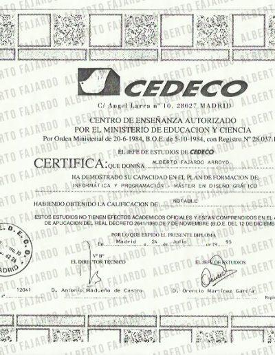 Titulo Cedeco