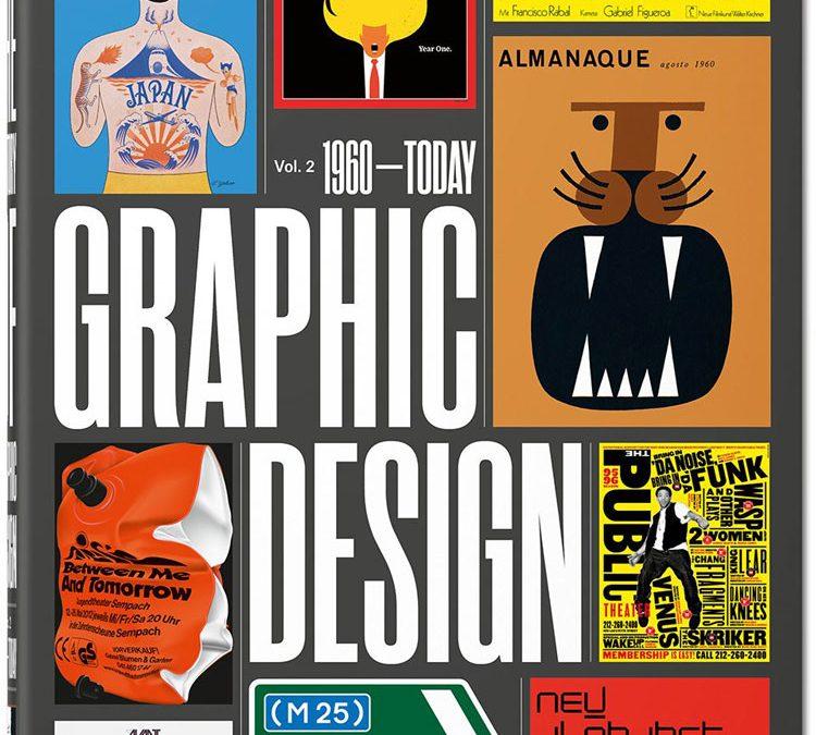 Nuevo libro de Taschen La historia del diseño grafico volumen 2