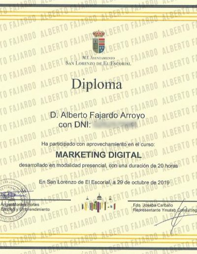 Diploma Marketing Digital
