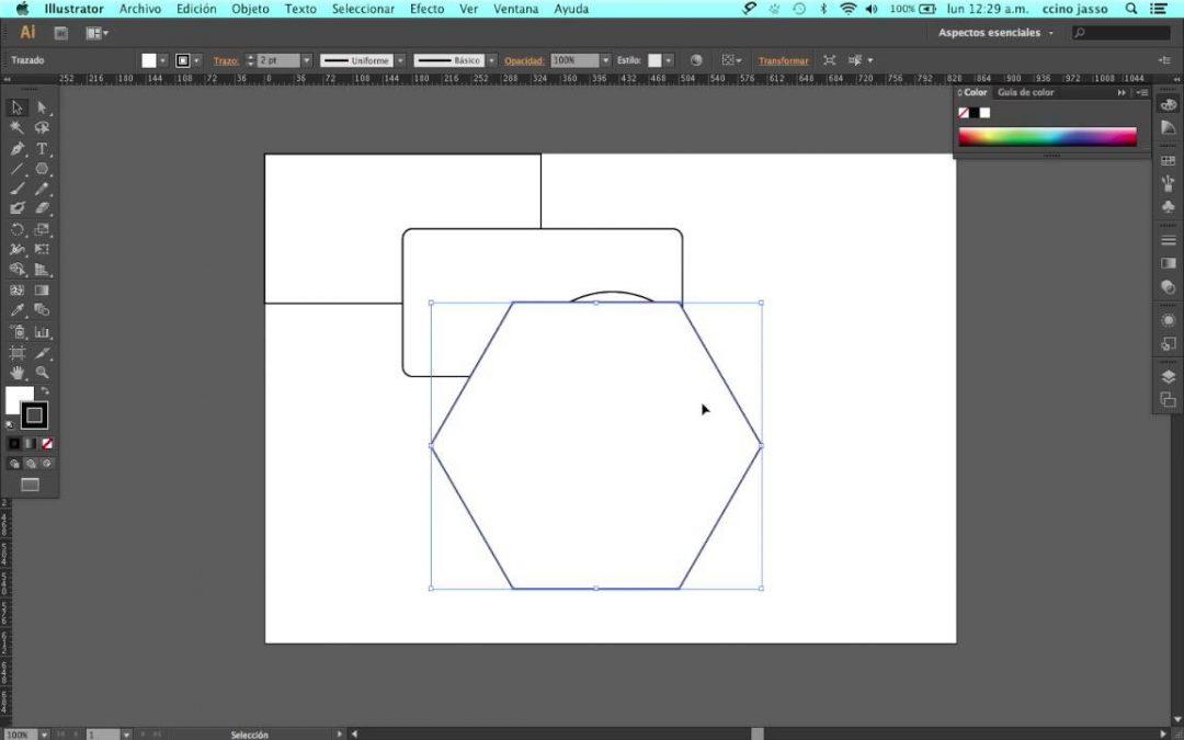 ¿No puedes cambiar el tamaño de un objeto en Adobe Ilustrator?