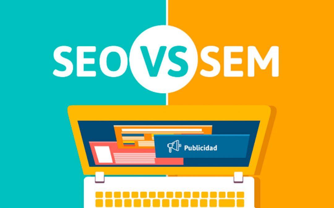 Diferencias entre SEO y SEM