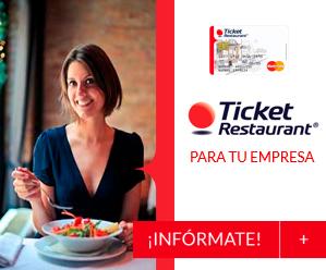 Banner Ticket restaurant
