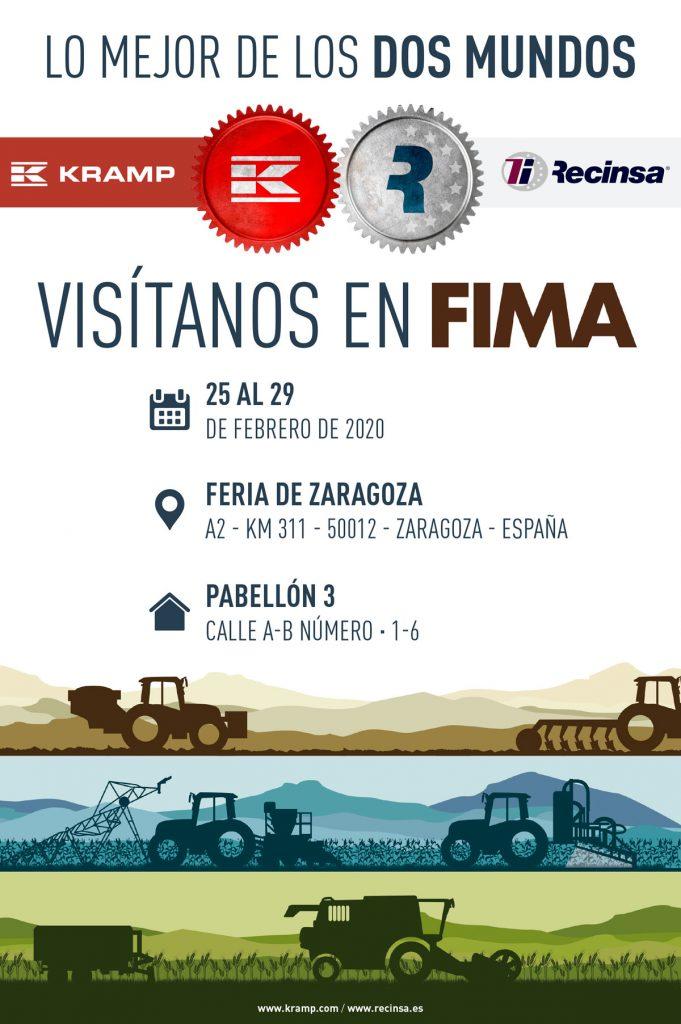 Publicidad para Feria Fima 2020