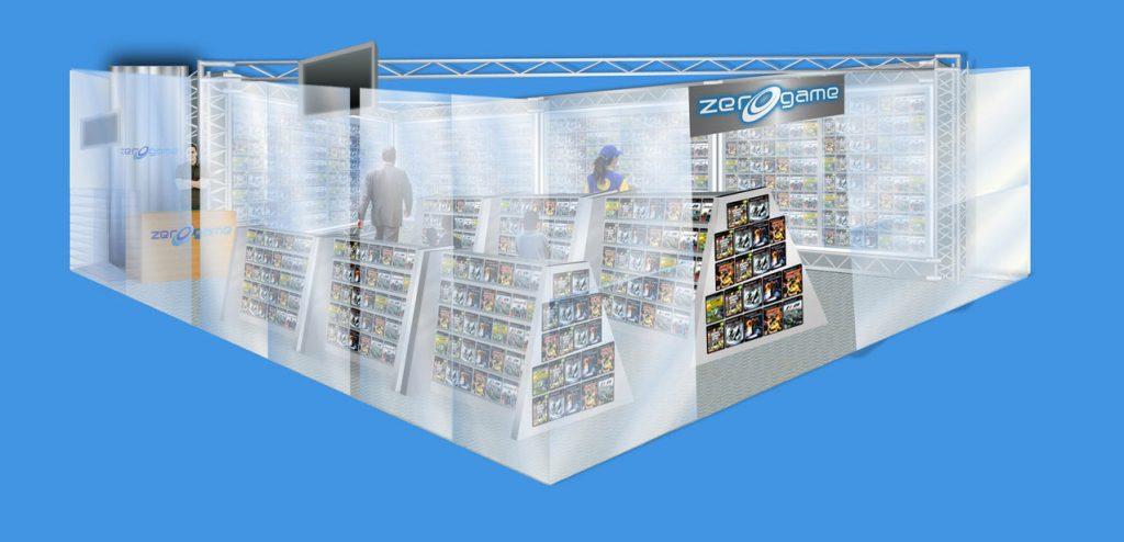 Render de punto de venta realizado para Zerogame