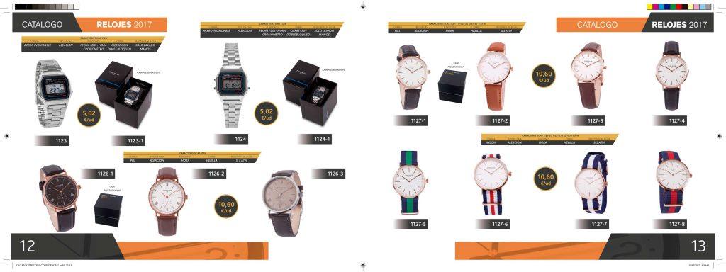 Paginas del Catalogo Relojes CasaPrem