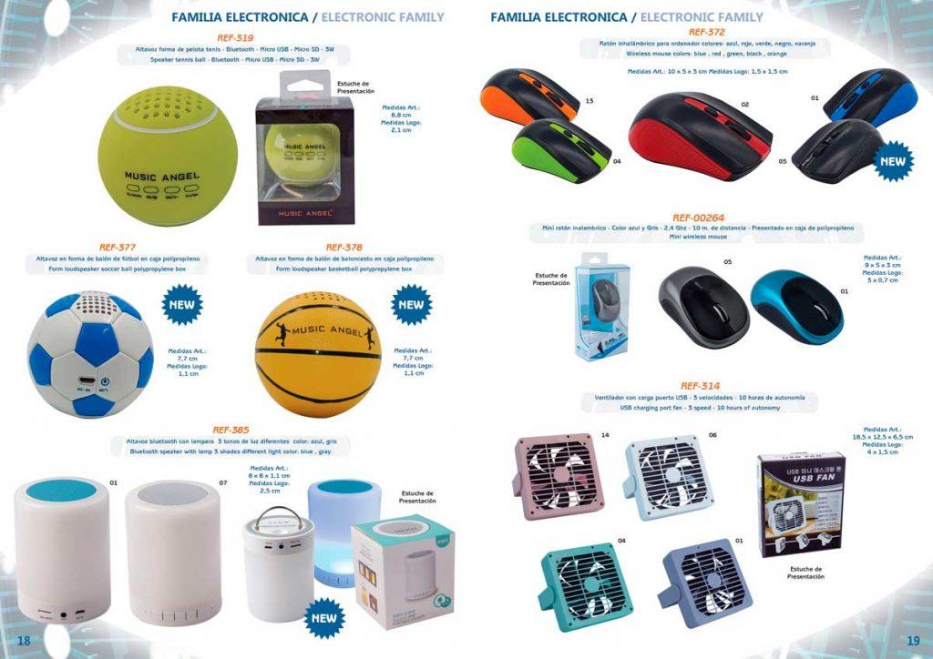 Diseño editorial , maquetación editorial y trazado de fotos. Paginas enfrentadas del nuevo catalogo de Future Gift