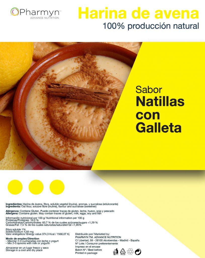 Etiqueta de producto topnutrition.es