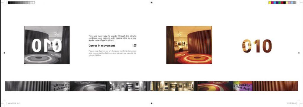 Diseño catalogo empresa de diseño de interiores OTD