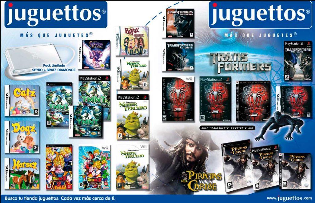 Publicidad Juguettos