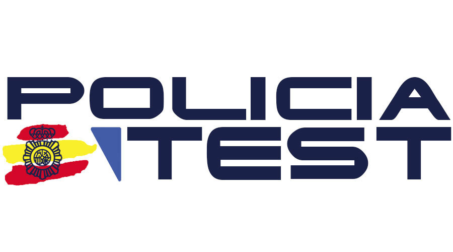 Creación de logotipo para academia virtual Policia Test
