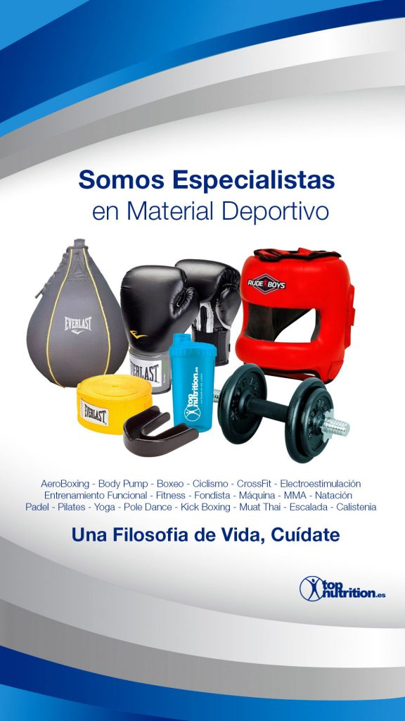 Newsletter creado para la web www.topnutrition.es