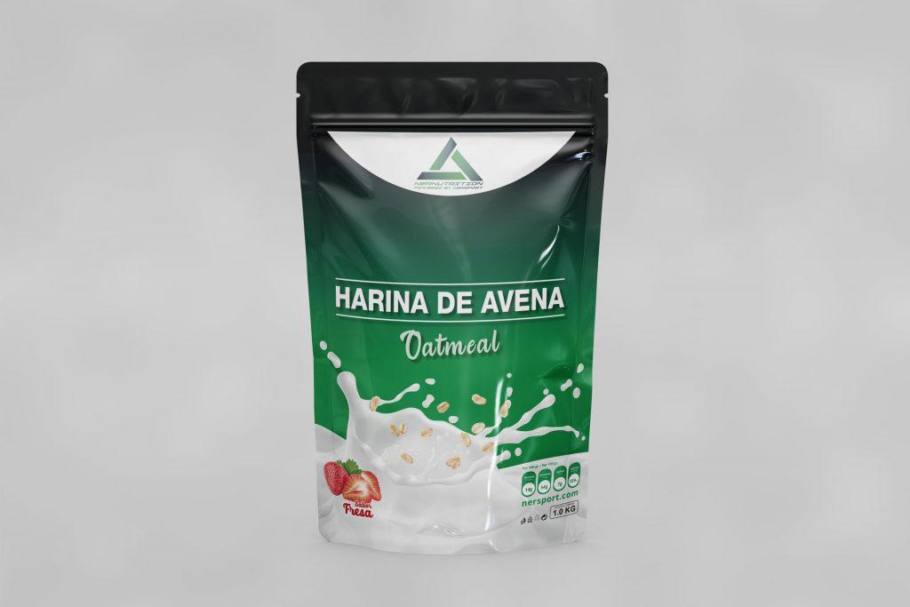 Bolsa Avena Packaking Termosellada para Nersport