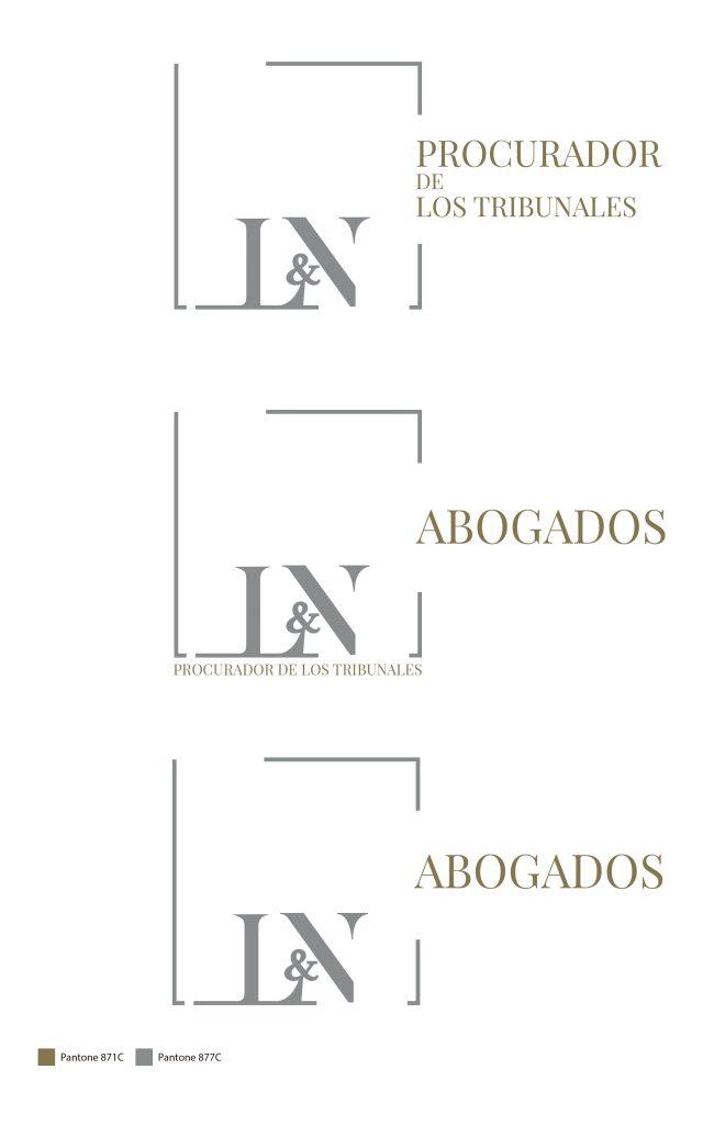 Logotipo para procuradores de los tribunales en Santa cruz de Tenerife