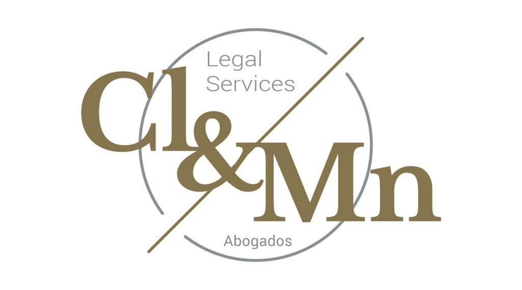 Logotipo para abogados CL&MN